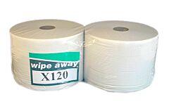 Maxi-rol poetspapier Wipe Away X120